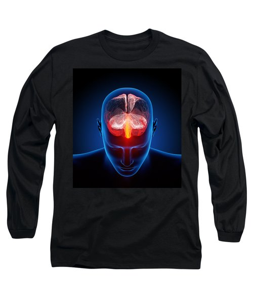 Human Brain Long Sleeve T-Shirt