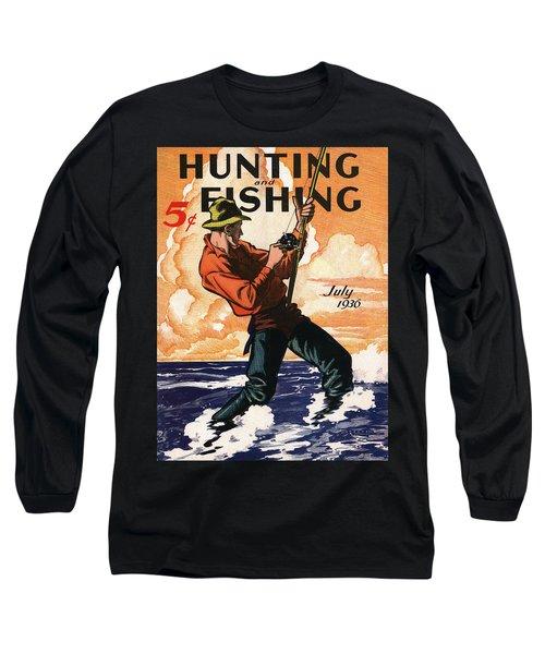 Hunting And Fishing Long Sleeve T-Shirt