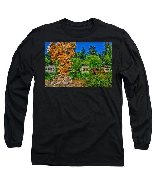Huntington Gardens Ca Long Sleeve T-Shirt by Richard J Cassato