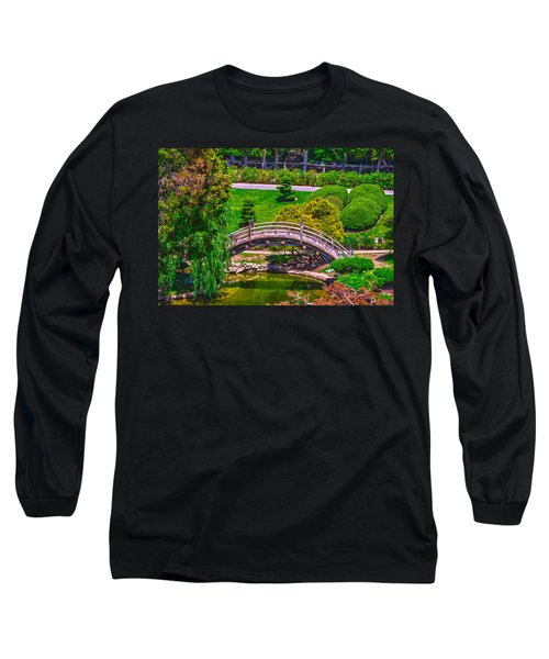 Huntington Library Ca Long Sleeve T-Shirt by Richard J Cassato