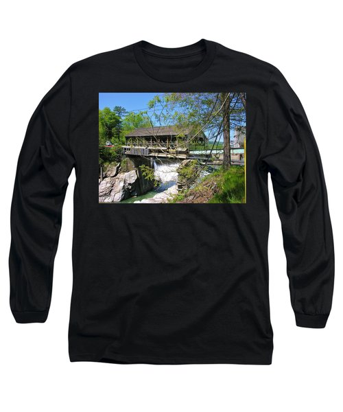 Long Sleeve T-Shirt featuring the photograph Hurricane Irenes Destruction by Sherman Perry