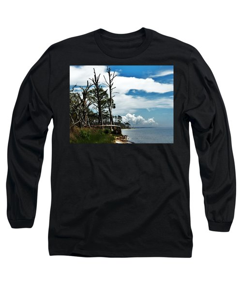 Long Sleeve T-Shirt featuring the photograph Hurricane Trail by Faith Williams