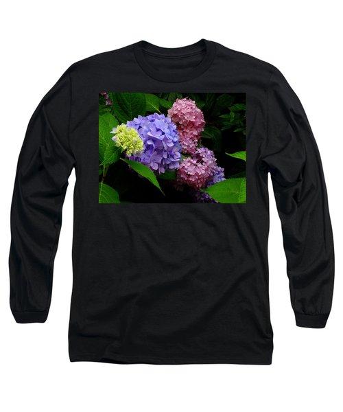Hydrangea Glow Long Sleeve T-Shirt