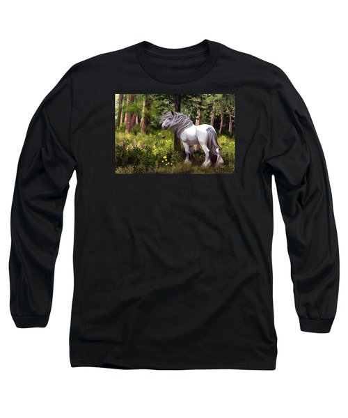 I Am Gonna Love You Forever Long Sleeve T-Shirt by Kate Black