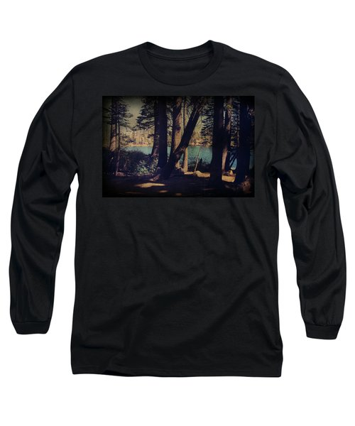 I Sit In The Shadows Long Sleeve T-Shirt