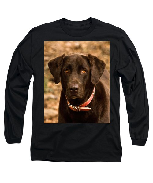 Long Sleeve T-Shirt featuring the photograph I Swear I Didn't Do It by Robert L Jackson