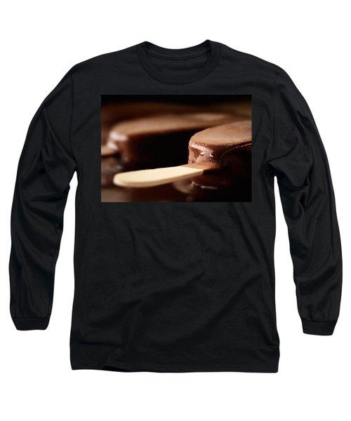 Ice Cream Chocolate Bar Long Sleeve T-Shirt