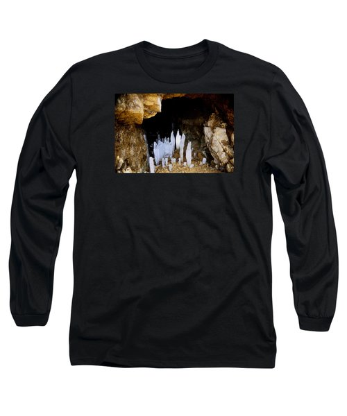 Ice In A Cave Long Sleeve T-Shirt