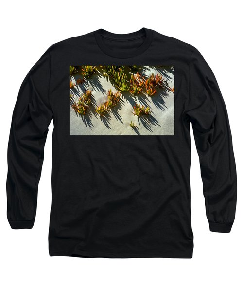 Ice Plant In Sand Long Sleeve T-Shirt