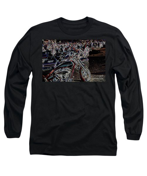 Iced Out Bikes Long Sleeve T-Shirt