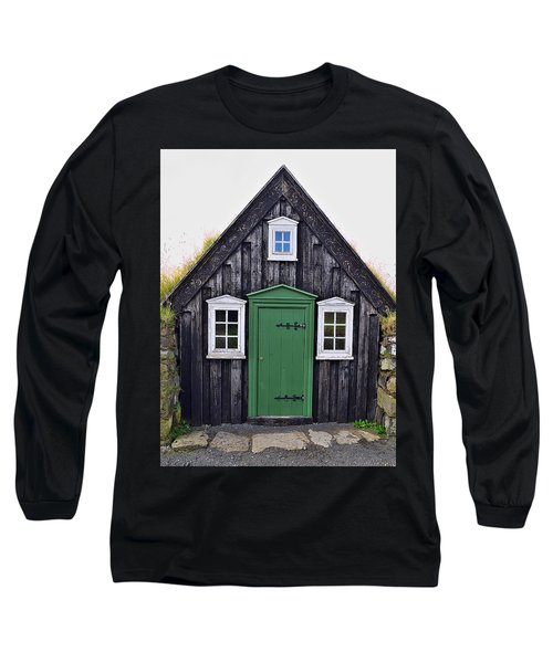 Icelandic Old House Long Sleeve T-Shirt
