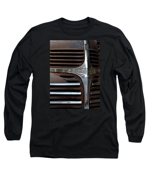 Iconic Dodge Truck Long Sleeve T-Shirt by Nadalyn Larsen