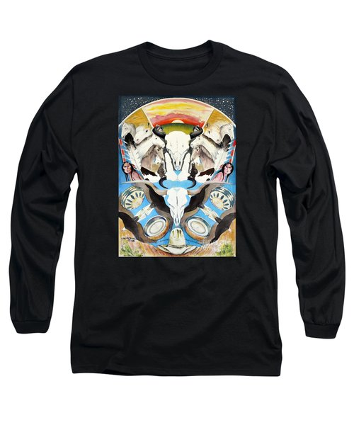 Icons Of The Panhandle Long Sleeve T-Shirt by Joan Hartenstein