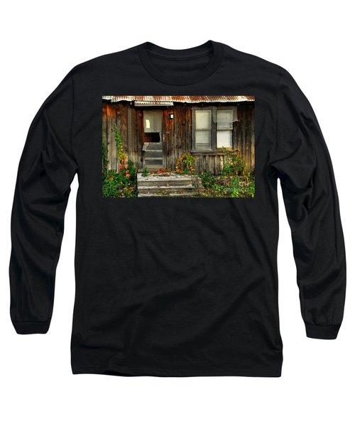 Long Sleeve T-Shirt featuring the photograph Idaho Retirement Estates by Sam Rosen