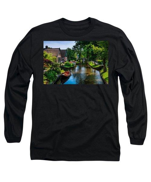 Idyllic Village 15. Venice Of The North Long Sleeve T-Shirt