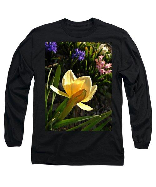 Illuminated Daffodil Long Sleeve T-Shirt