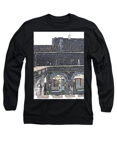 Fort Brimstone, St Kitts/nevis Long Sleeve T-Shirt