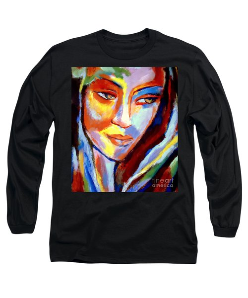 Long Sleeve T-Shirt featuring the painting Immersed by Helena Wierzbicki