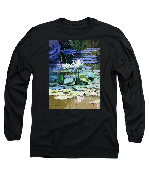 Impressions Of Sunlight Long Sleeve T-Shirt by John Lautermilch