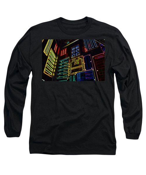 In A Neon-box Long Sleeve T-Shirt
