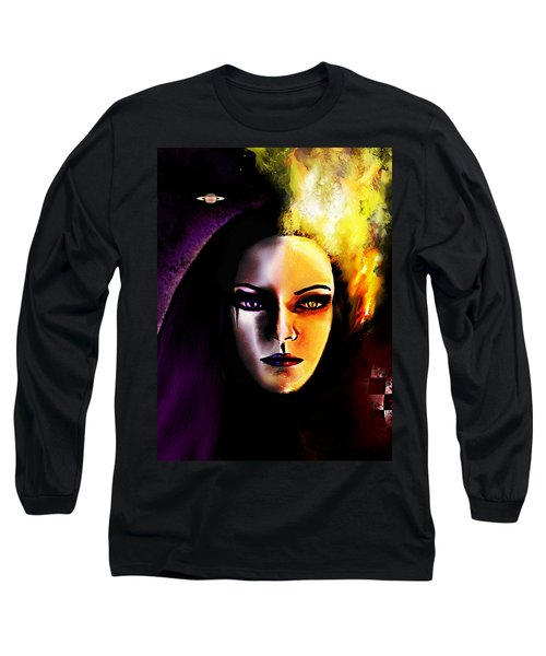 In Between Long Sleeve T-Shirt by Persephone Artworks