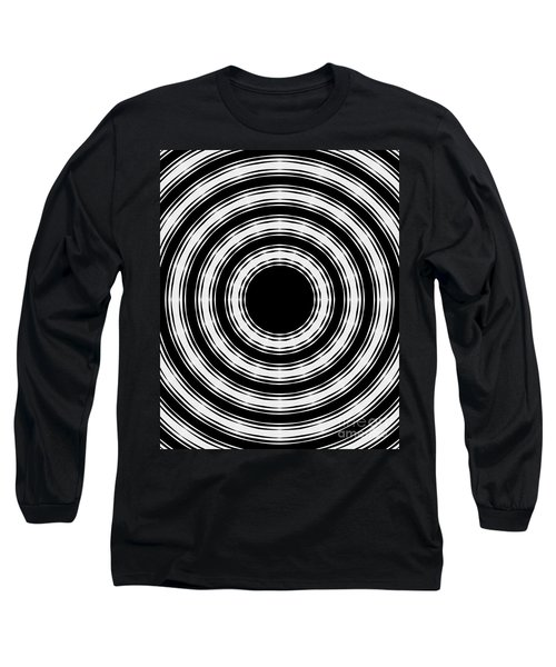 Long Sleeve T-Shirt featuring the painting In Circles by Roz Abellera Art