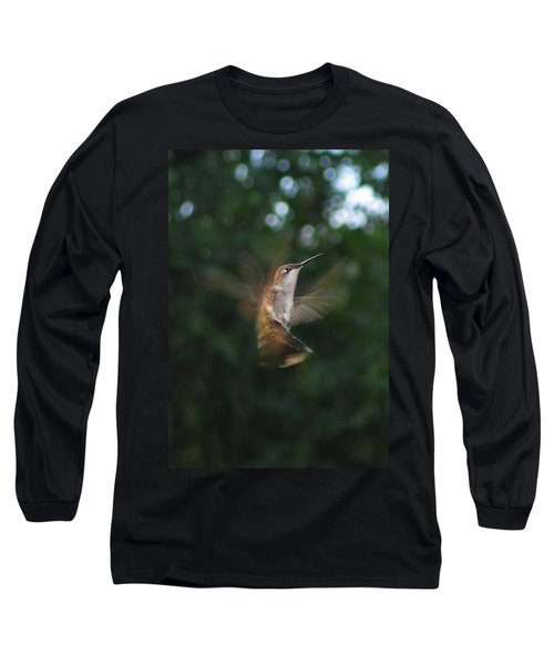 In Flight Long Sleeve T-Shirt by Photographic Arts And Design Studio