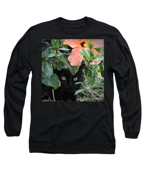 In His Jungle Long Sleeve T-Shirt by Peggy Hughes