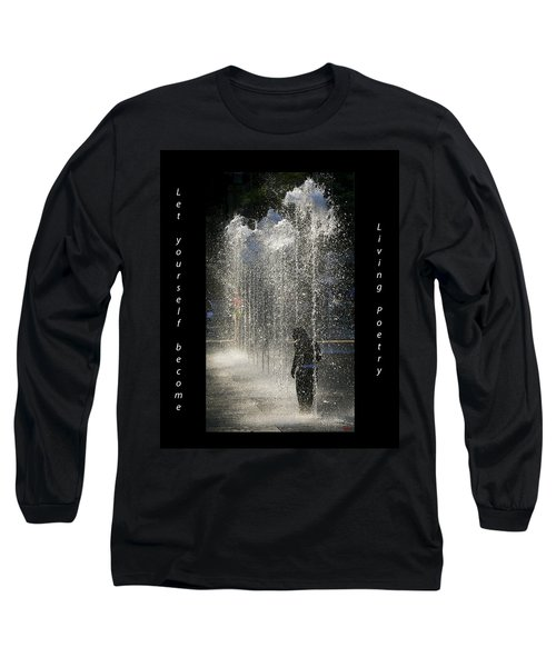 In His Own World Long Sleeve T-Shirt