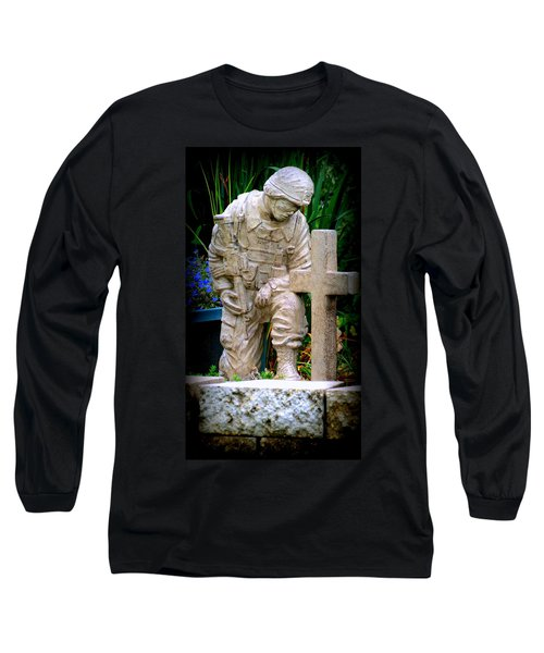In Honor Of The Wounded Warrior Long Sleeve T-Shirt