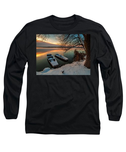 In Safe Harbor Long Sleeve T-Shirt by Davorin Mance