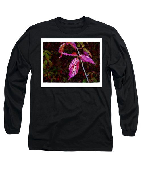 In The Briar Patch Long Sleeve T-Shirt by Judi Bagwell