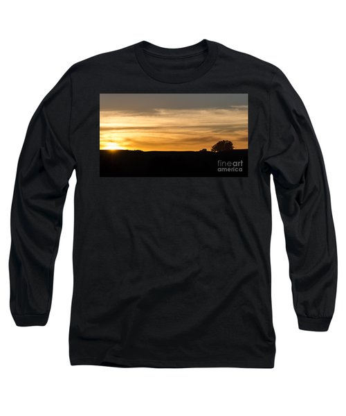 In The Evening I Rest Long Sleeve T-Shirt