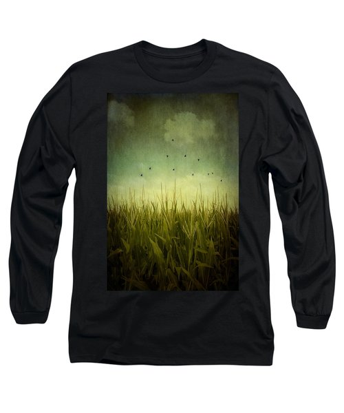 In The Field Long Sleeve T-Shirt by Trish Mistric