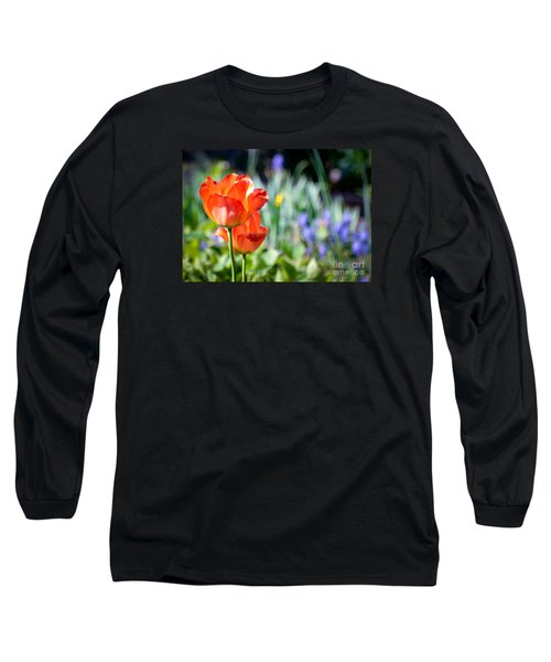 In The Garden Long Sleeve T-Shirt by Kerri Farley