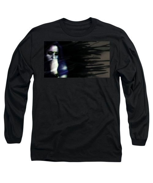 Long Sleeve T-Shirt featuring the photograph In The Shadows Of Doubt  by Jessica Shelton