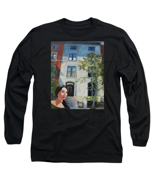 In The Way Of Spindrift Jan Bryant Bartell Long Sleeve T-Shirt by Barbara Barber