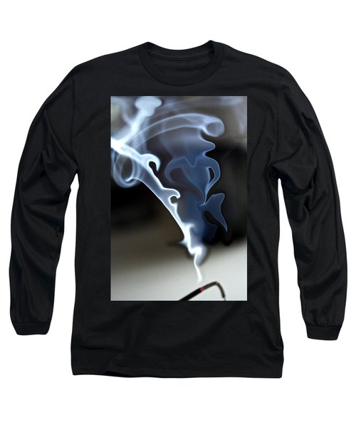 Incense Smoke Dance - Smoke - Dance Long Sleeve T-Shirt