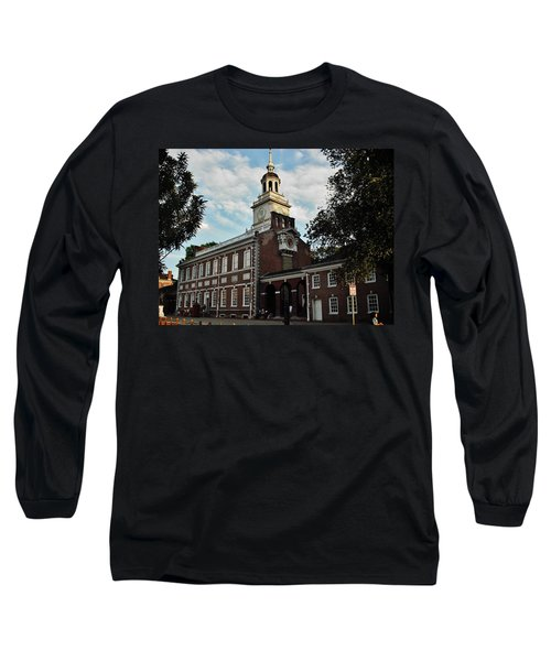 Independence Hall Long Sleeve T-Shirt by Ed Sweeney