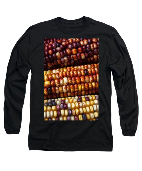 Indian Corn Harvest Time Long Sleeve T-Shirt