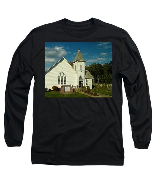 Indian Mission United Methodist Church Harbeson Delaware Long Sleeve T-Shirt