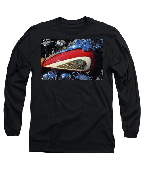 Indian Motorcycle Gas Tank Long Sleeve T-Shirt