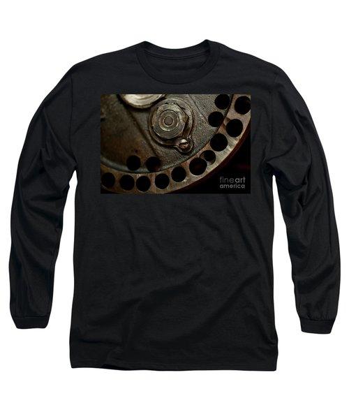 Indian Racer Crankshaft Fly Wheel Long Sleeve T-Shirt