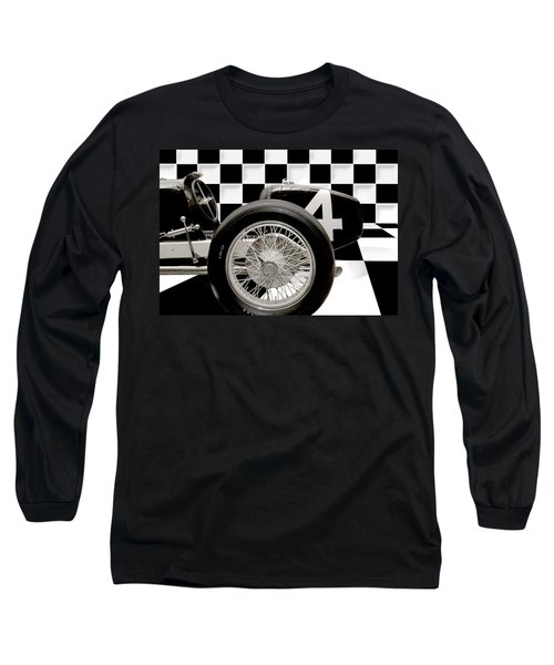Indianapolis Motor Speedway Long Sleeve T-Shirt by Gary Warnimont