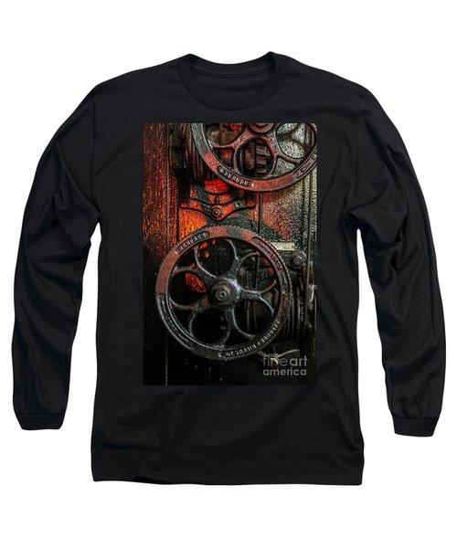 Industrial Wheels Long Sleeve T-Shirt