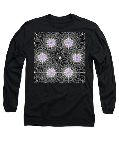 Infinity Grid Six Long Sleeve T-Shirt