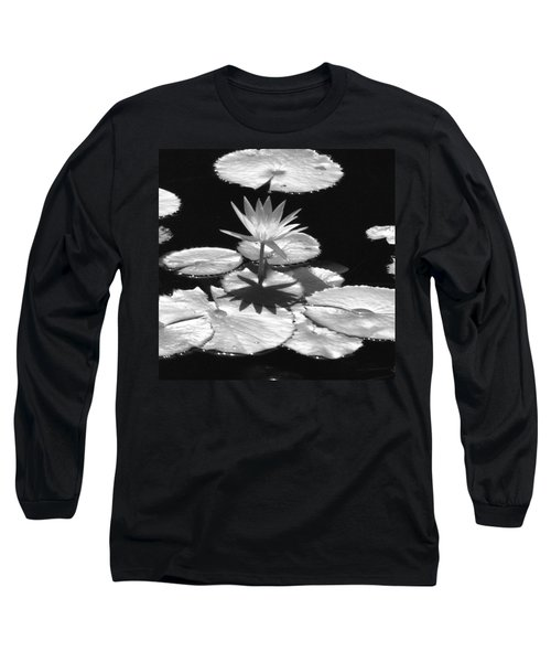 Infrared - Water Lily 02 Long Sleeve T-Shirt