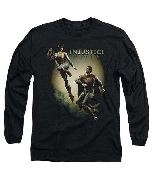 Injustice Gods Among Us - Battle Of The Gods Long Sleeve T-Shirt