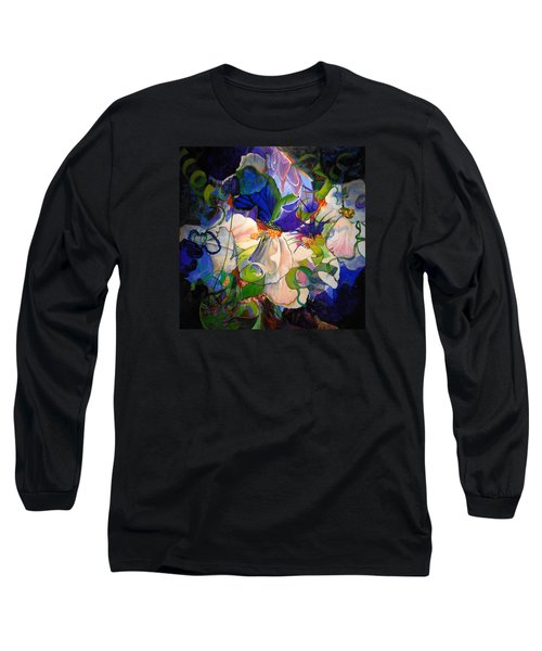 Long Sleeve T-Shirt featuring the painting Inner Light by Georg Douglas