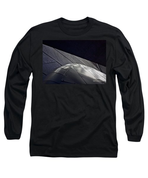 Inner Space 2 Long Sleeve T-Shirt by Linda Bianic